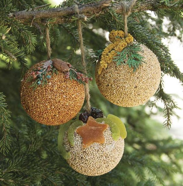 Fruit Ornament Ball Basket