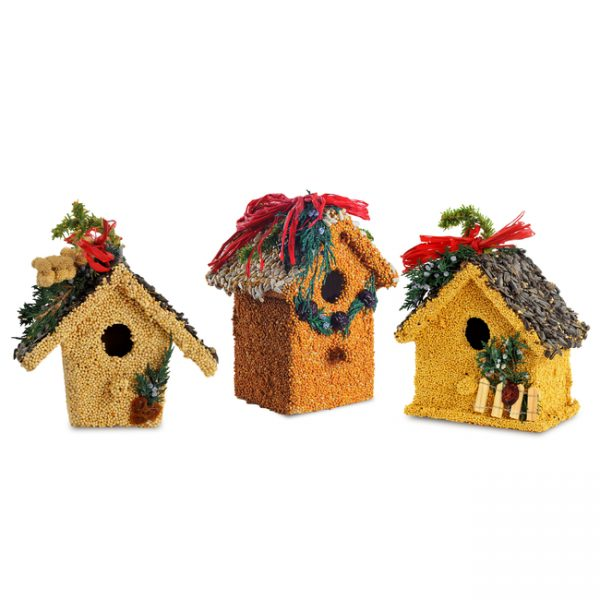 Holiday Birdie Cottage Treat