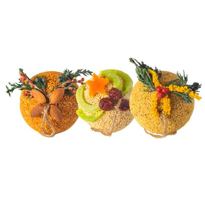 Fruit Ornament Ball Basket