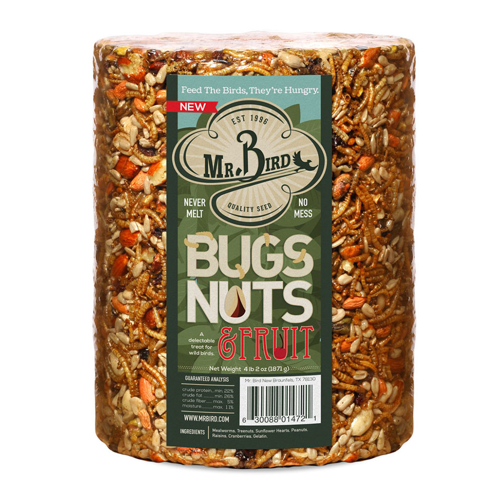 Bugs, Nuts, & Fruit Cylinder – Large
