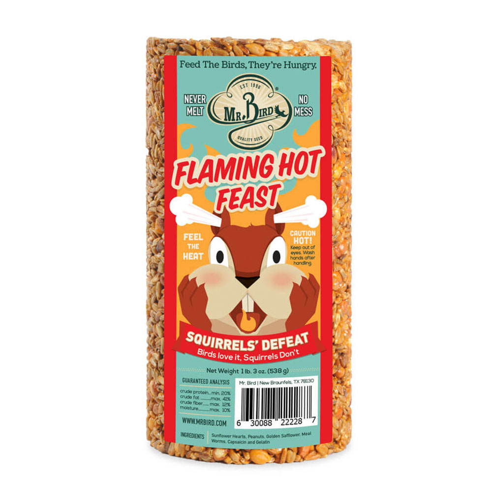Flaming Hot Feast Cylinder Small