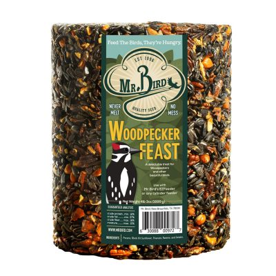 Woodpecker Feast Cylinder Large