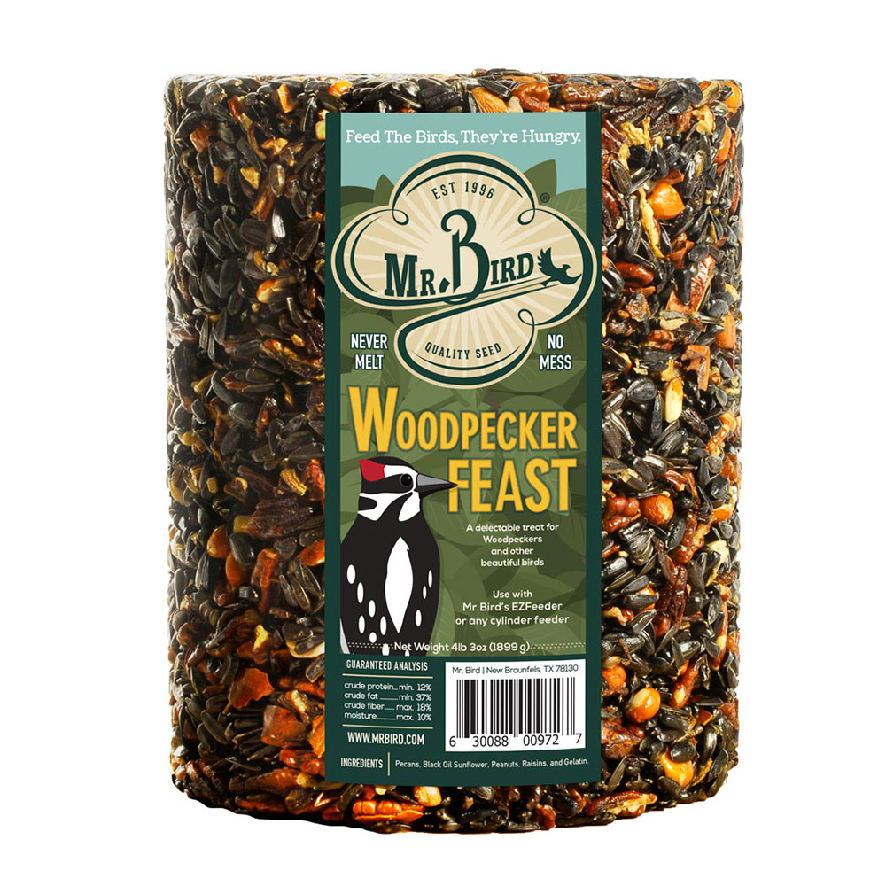 Woodpecker Feast Cylinder – Large